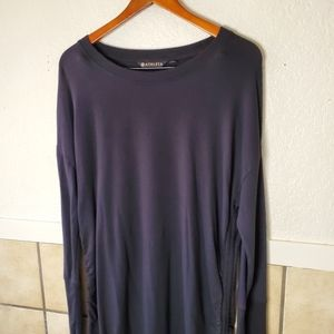Athleta Black long sleeve Modal sweater Dress